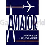 Playing cards Aviator (blue)