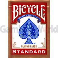 Игральные карты Bicycle Rider Back Standard (Красные)