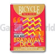 Игральные карты Brainwave Deck Bicycle (Синие)