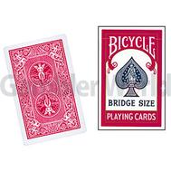 Игральные карты Bicycle Bridge (Красные)