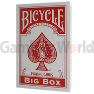 Игральные карты Big Bicycle Cards (Jumbo Bicycle Cards, Синие)