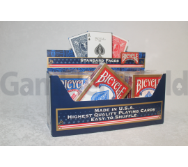 Box of playing cards Bicycle Standard 12 pcs