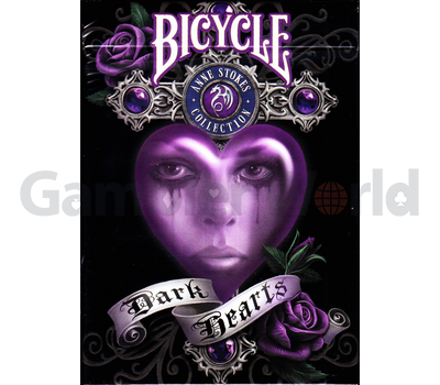 Игральные карты Bicycle Anne Stokes Dark Hearts