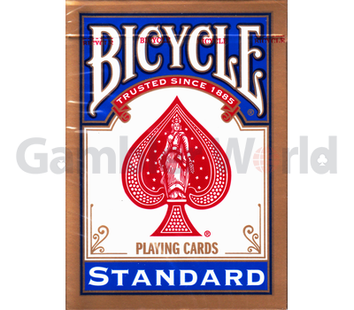 Playing cards Bicycle Rider Back Standard (blue)