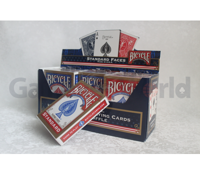 Box of playing cards Bicycle Rider Back Standard 12 pcs