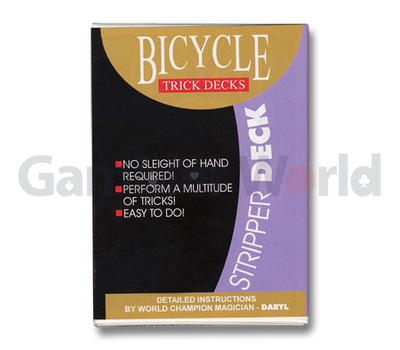 Игральные карты Stripper Deck Bicycle (Синие)