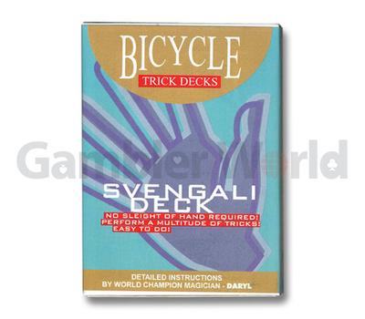 Игральные карты Svengali Deck Bicycle (Синие)