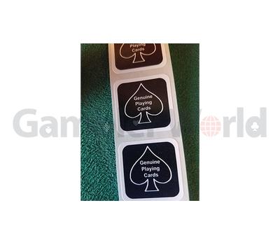 BLACK New Deck Stickers