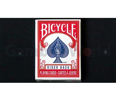 Игральные карты Bicycle Mini (Красные)