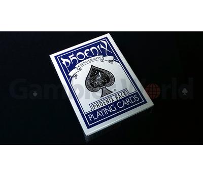 Игральные карты Phoenix (Синие)