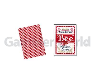 Игральные карты Bee (Красные)