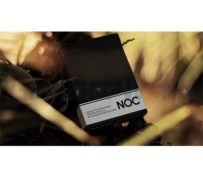 Игральные карты NOC Original Deck (Чёрные) - USPCC & The Blue Crown