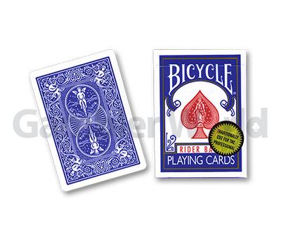 Игральные карты Bicycle Gold Standard (Синие)