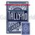Игральные карты Tally-Ho Circle back (синие)