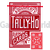 Playing cards Tally-Ho Fan back (red)