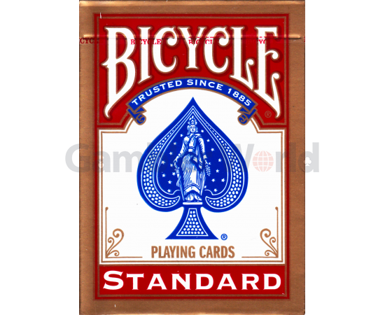 Playing cards Bicycle Rider Back Standard (red)