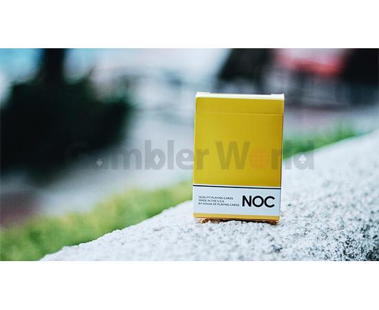 Игральные карты NOC Original Deck (Жёлтые) - USPCC & The Blue Crown