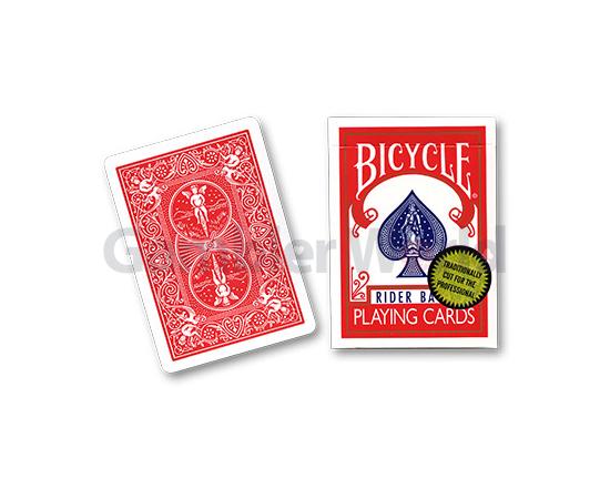 Игральные карты Bicycle Gold Standard (Красные)