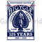 Playing cards Bicycle Decks 125 Years Anniversary Edition (blue)